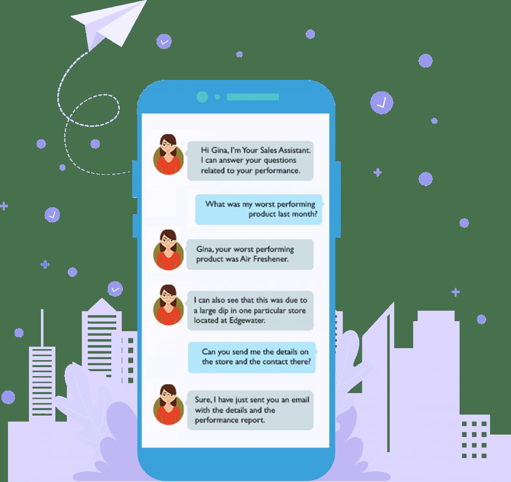 Sia Mobile Chatbot