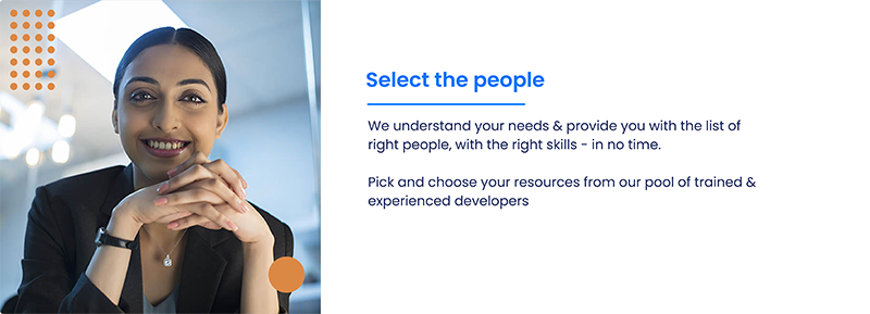 Select the people card